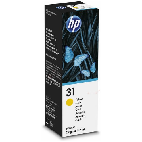 HP 1VU28AE (31) Ink cartridge yellow, 8K pages, 70ml