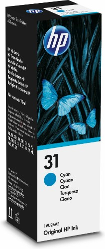 HP 1VU26AE (31) Ink cartridge cyan, 8K pages, 70ml