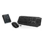 iogear Keymander RF Wireless Black keyboard