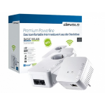 Devolo BASIC WLAN Starter v2 500Mbit/s Ethernet LAN Wi-Fi White 2pc(s) PowerLine network adapter