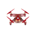 DJI Tello Iron Man Edition camera-drone Quadcopter Rood, Geel 4 propellers 5 MP 1280 x 720 Pixels 1100 mAh