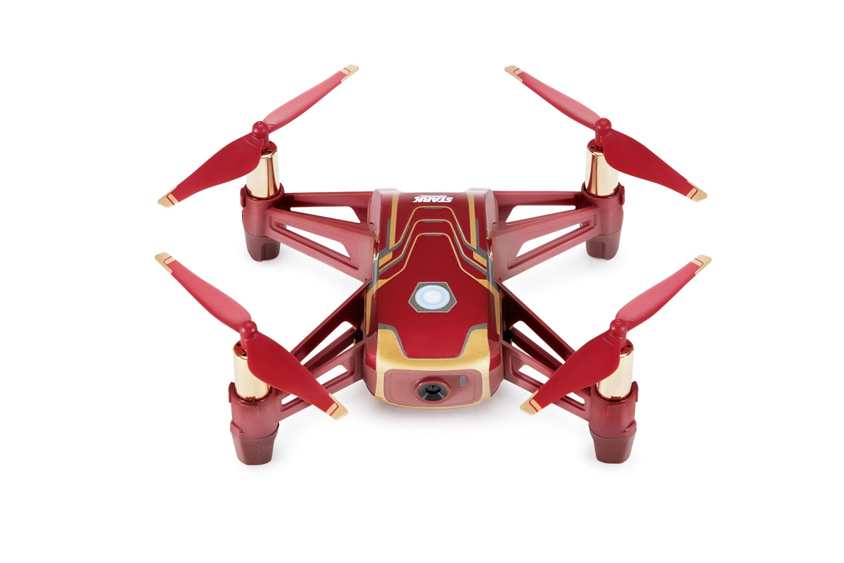 DJI Tello Iron Man Edition camera drone Quadcopter Red,Yellow 4 rotors 5 MP 1280 x 720 pixels 1100 m
