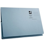 Q-CONNECT LFLAP DOC WLTS 300GSM BLUE PK50