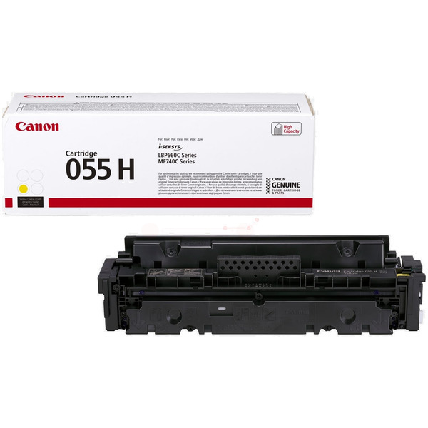 Canon 3017C002 (055 H) Toner yellow, 5.9K pages