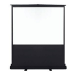 "Metroplan Vertigo Portable Floor Screen 80"" 4:3 Black,White projection screen"