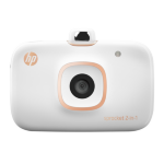 HP Sprocket 2-in-1 ZINK (Zero ink) 313 x 400DPI photo printer