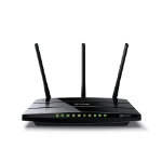 TP-LINK Archer VR400 wireless router Dual-band (2.4 GHz / 5 GHz) Gigabit Ethernet 3G 4G Black