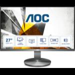 AOC I2790VQ/BT PC Flachbildschirm 68,6 cm (27 Zoll) 1920 x 1080 Pixel Full HD LED Grau