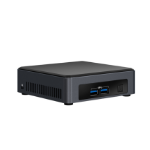 Intel BLKNUC7I5DNKE PC/workstation barebone i5-7300U 2.6 GHz UCFF Black BGA 1356