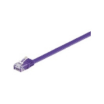 Microconnect V-UTP610P-FLAT networking cable 10 m Cat6 U/UTP (UTP) Purple