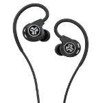 JLab Audio EFITSPORTRBLK123 Headphones Ear-hook 3.5 mm connector Black IEUEFITSPORTRBLK123