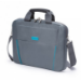 Dicota 15.6-Inch Top Loading Lockable Cushioned Notebook Briefcase - Grey/Blue - (D30998)