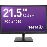 "Wortmann AG TFTs 21.5"" Full HD LED Flat Black computer monitor"