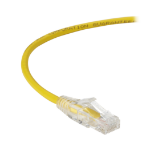 Black Box C6PC28-YL-12 networking cable Yellow 3.6 m Cat6