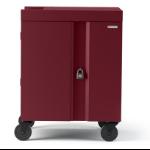 Bretford Cube Cart Portable device management cart Maroon