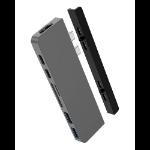 HYPER HD28C USB 3.2 Gen 1 (3.1 Gen 1) Type-C Grey