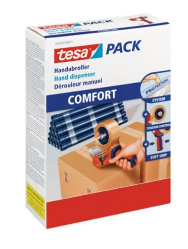 TESA 06400-00001-03 tape dispenser Blue,Orange