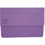 FOREVER BRIGHT MANILLA WALLET PURPLPLE