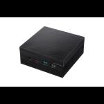 ASUS PN60-BB3006MC PC/workstation barebone 0.69L sized PC Black i3-8130U 2.2 GHz