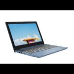 """Lenovo IdeaPad Slim 1 Notebook Blue 29.5 cm (11.6"""") 1366 x 768 pixels AMD A4 4 GB DDR4-SDRAM 64 GB Flash Wi-Fi 5 (802.11ac) Windows 10 Home S"""