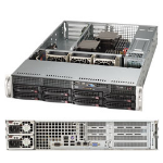 Supermicro SuperServer 6027R-WRF Intel C602 Socket R (LGA 2011) 2U Black