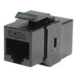 Cablenet Cat5e RJ45 UTP Keystone Panel Mount Through Coupler