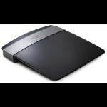 Linksys E2500 draadloze router Fast Ethernet Zwart