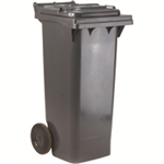 VFM REFUSE CONTAINER 120L 2 WHLD GRY 33 33