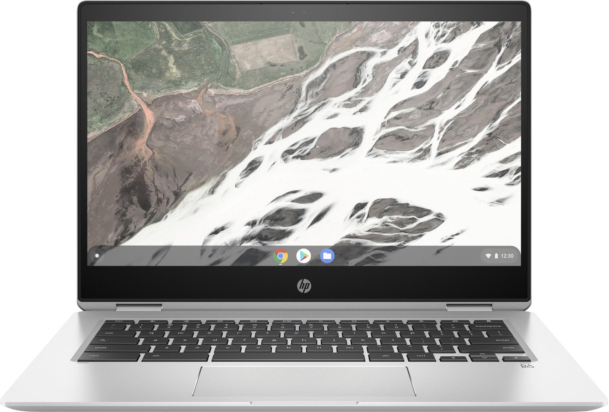 HP Chromebook x360 14 G1 Silver 35.6 cm (14