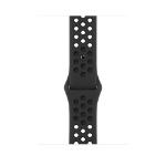 Apple ML883ZM/A smartwatch accessory Band Anthrazit, Schwarz Fluor-Elastomer