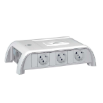 C2G Legrand Meeting Room Multi-Outlet - with 8 Sockets - Schuko Standard