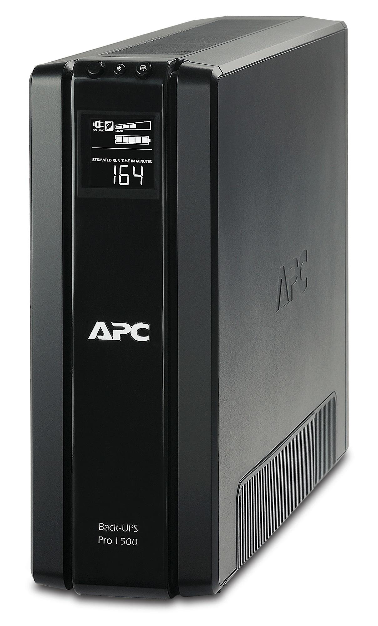 APC Back-UPS Pro sistema de alimentación ininterrumpida (UPS) Línea interactiva 1500 VA 865 W 6 salidas AC