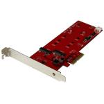 StarTech.com 2x M.2 SATA SSD Controller Card - PCIe