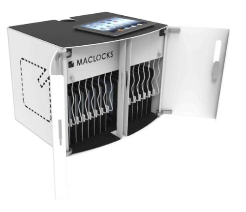 Compulocks CL-SOLO Wall-mounted Black, White