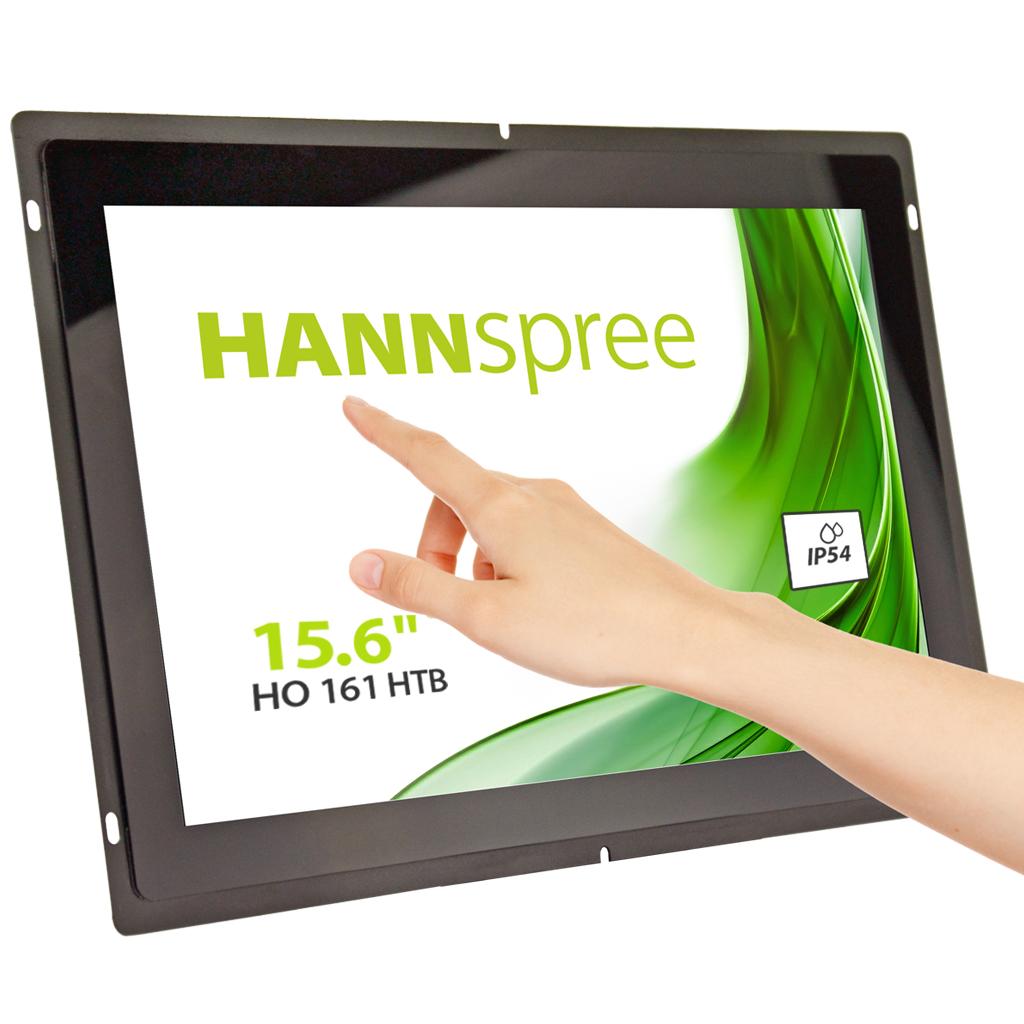 """Hannspree Open Frame HO 161 HTB 39.6 cm (15.6"""") LED Full HD Touchscreen Totem design Black"""