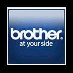 Brother PR4040R6P sello 40 x 40 mm Rojo