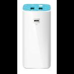 TP-LINK TL-PB10400 power bank Blue,White 10400 mAh
