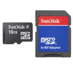 Sandisk SDSDQB-016G-B35 + Adapter memory card 16 GB MicroSD