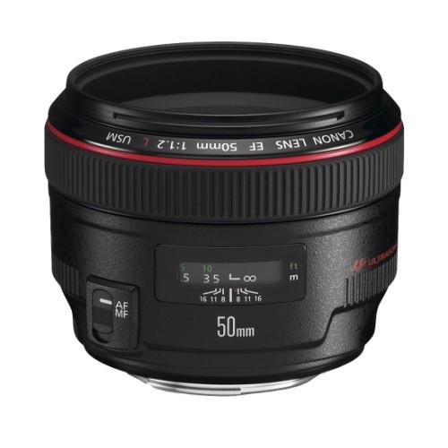 Canon EF 50mm f/1.2L USM SLR Black