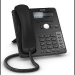 Snom D710 Wired handset TFT Black IP phone