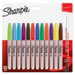 Sharpie Markers Fine Assorted Colours S0811070