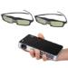 PICO GENIE *BUNDLE* Pico Genie M400 LED 2D & 3D Projector & 2 x 3D Glasses