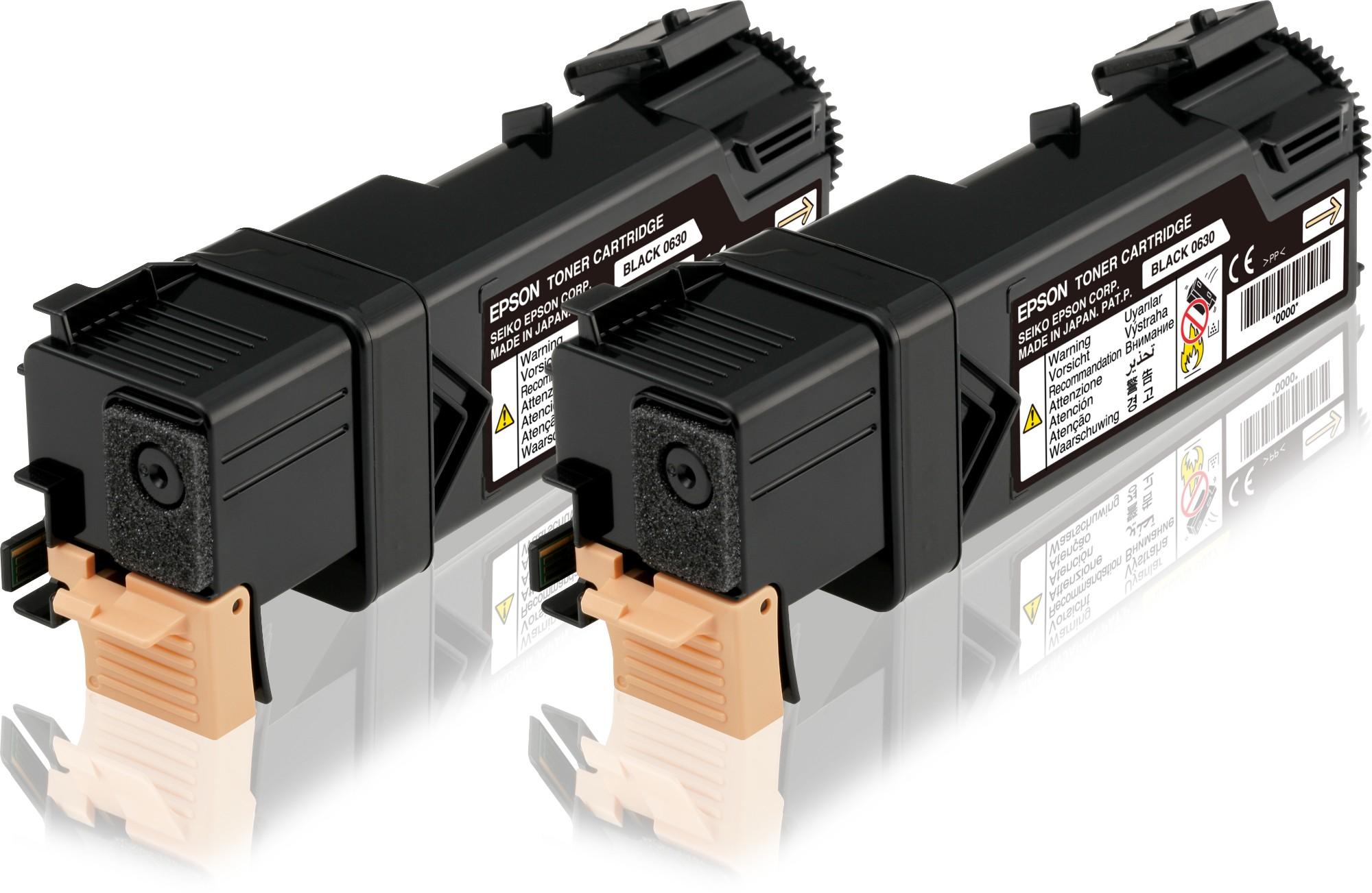 Epson Doble cartucho de tóner negro 3kx2