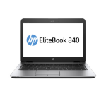 "HP EliteBook 840 G3 2.4GHz i5-6300U 14"" 1920 x 1080pixels Silver Ultrabook"