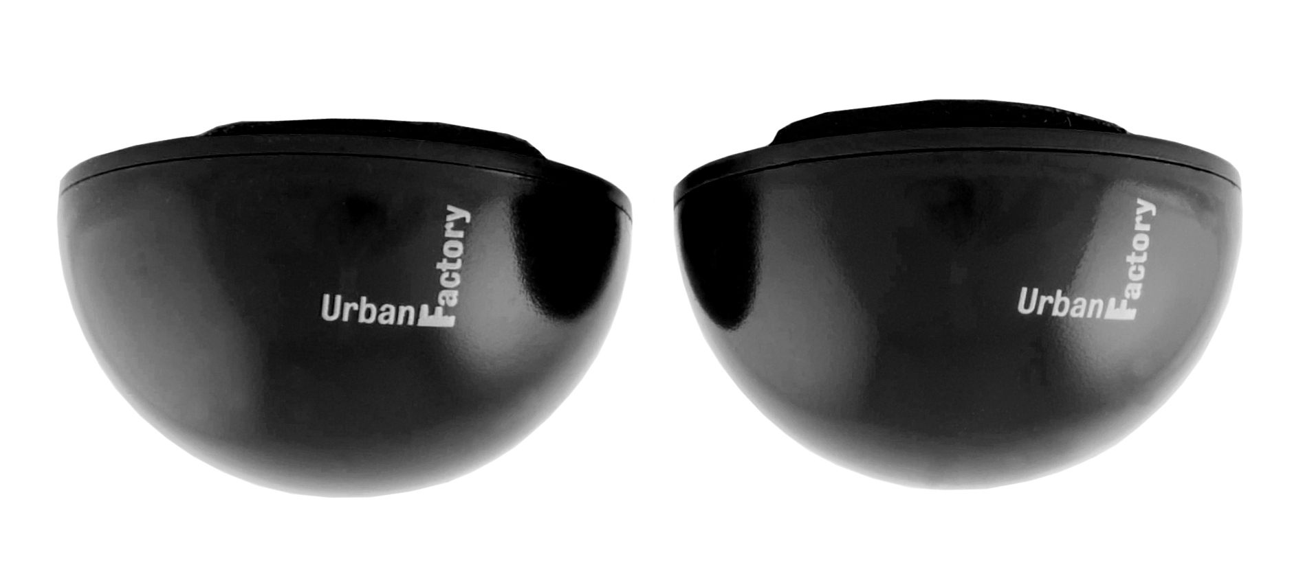 Urban Factory Crazy Ball Black to lift notebook to avoid overheating