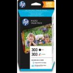HP Z4B62EE (303) Printhead cartridge multi pack, Pack qty 2
