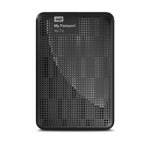 Western Digital My Passport AV-TV 1TB 1000GB Zwart externe harde schijf