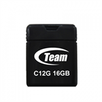 Team Group C12G 16GB USB 2.0 Type-A Black USB flash drive