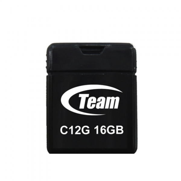 Team Group C12G 16GB USB 2.0 USB Type-A connector Black USB flash drive