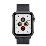 Apple Watch Series 5 OLED 40 mm Black 4G GPS (satellite)